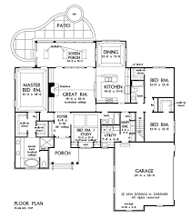 PLAN OF THE WEEK  Ranch and Hillside Walkout        Craftsman    PLAN OF THE WEEK  Ranch and Hillside Walkout        Craftsman Ranch  House plans and Floor Plans