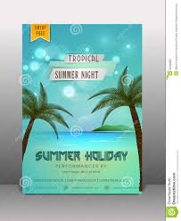 summer holiday flyer banner or template stock photo image summer holiday flyer banner or template
