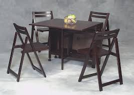 Space Saving Dining Room Tables And Chairs Saving Kitchen Table Space Kitchen Tables Next Round Hideaway