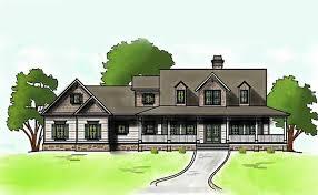 Low Country Farmhouse Plan   Wrap Around Porchlow country farmhouse house plan
