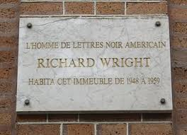 richard wright  author    wikipediaplaque commemorating wright    s residence in paris  at  th monsieur le prince street