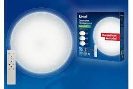 <b>Светильник светодиодный потолочный Uniel</b> ULI-D214 96W/SW ...
