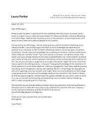 fashion intern cover letters   Template