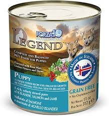 <b>FORZA10</b> Legend <b>Puppy</b> Salmon and Lamb Recipe Canned <b>Dog</b> ...