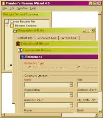 the latest version of resume wizard  in english on ccm key features resume wizard