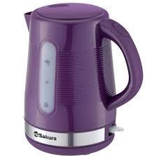 <b>чайник</b> электрический <b>SAKURA SA</b>-<b>2343P</b> 1.7л фиолет