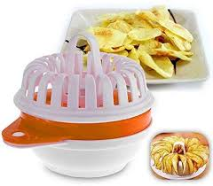 Fiesta Home Practical <b>1pc</b> DIY <b>Microwave</b> Oven <b>Baked Potato</b> Chips ...