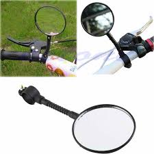 New 2017 arrival <b>1pc Bike Mirrors Bicycle Handlebar</b> Flexible Rear ...