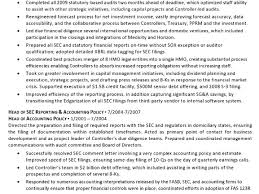 breakupus splendid resume career summary examples easy resume breakupus fascinating resume sample controller chief accounting officer business extraordinary resume sample controller cfo page