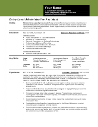sample administrative assistant resume administrative assistant  sample administrative assistant resume
