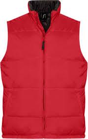 <b>Жилет WARM красный</b>, <b>размер</b> 3XL оптом под логотип