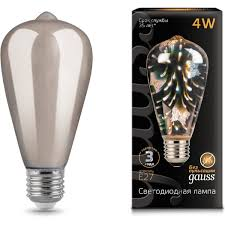 <b>Лампа Gauss 147802404</b> LED 3D-Butterfly E27 4W
