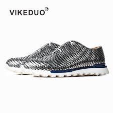 <b>VIKEDUO Summer Men's</b> Drving <b>Shoes</b> Genuine Leather Wedding ...