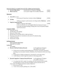 resume for draughtsman