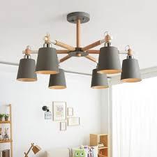 Solid wood living room <b>chandelier lighting modern</b> bedroom ...