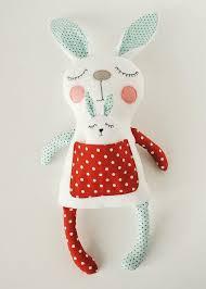 Bunny Pattern Rabbit Stuffed animal pattern Soft toy pdf pattern Stuff ...