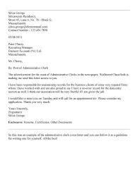 clerical job cover letter sample cover letter for accounting clerk job clerical jobs in banks