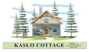 Small Timber Frame House Plans   Hamill CreekKaslo Cottage  View Larger More Details