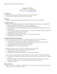 resume education teacher professional resume cover letter sample