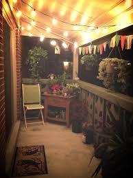 15 small balcony lighting ideas balcony lighting