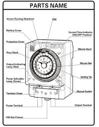 <b>Free Shipping</b> TB388 Non Power Failure 24 Hours Mechanical ...