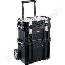 Набор <b>ящиков</b> на <b>колесах Keter</b> SMART ROLLING 22 38390-22 ...