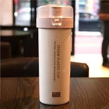 Environmentally Friendly Transparent Cover Wheat Fiber Coffee ...