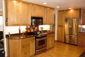 california kitchen designs with light cabinet and lighting