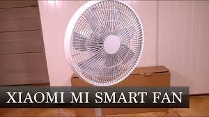 Умный <b>вентилятор XIAOMI MI</b> SMART <b>FAN</b> - YouTube