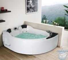 <b>Акриловая ванна</b> Gemy G9086 K L <b>170х133</b> с гидромассажем ...