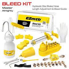 <b>Universal Bicycle</b> Hydraulic Disc Brake <b>Bleed Kit</b> BikeTool Kit for ...