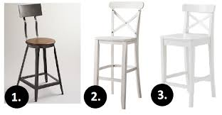 at first i thought i wanted something industrial feeling like the one from world market but eventually i felt like it just bar stools counter pier 1