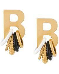 <b>Серьги Balenciaga</b> для нее — Lyst.com.ru