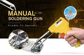 $9 with coupon for <b>gocomma</b> Manual <b>Soldering Gun</b> - YELLOW ...