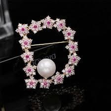 Donia Jewelry Fashion simple <b>Korean micro inlaid zircon</b> brooch ...