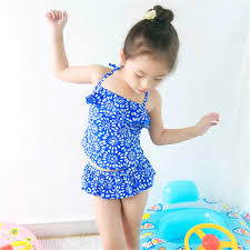 2019 <b>New Model Kid Girls</b> Two Pieces Swimsuit 2 7 Y Baby Girl ...