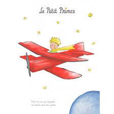 Art print 40x50 cm - The <b>Little</b> Prince and the <b>plane</b> - paintings ...