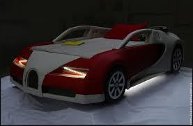 "Купить Детская <b>кровать</b>-<b>машина</b> ""BugaTTi Veyron BR"". КОЖА ..."