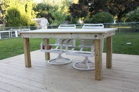 free patio table stainless steel