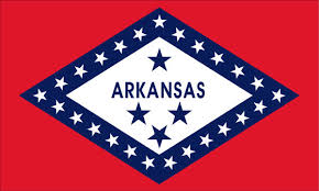 State of Arkansas License Plate