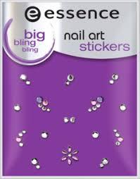 <b>nail art sticker</b> 10 big <b>bling bling</b> - <b>essence</b> cosm - vozeli.com