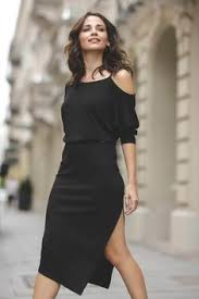 Sukienka K492 Czarny - Czarny   <b>Lenitif</b>   Sukienki Damskie ...
