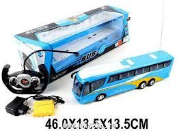 """Машина <b>радиоуправляемая</b>, """"<b>Автобус</b>"""", 4 канала, свет, аккумулятор"""