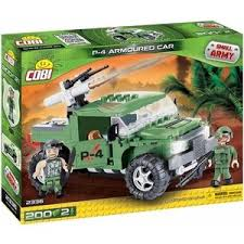 <b>Конструктор COBI</b> Военный джип P-4 Armoured Car - COBI-2336 ...