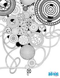 Small Picture Circles and rosettes coloring pages Hellokidscom