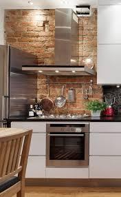 Wall For Kitchens Brick Backsplash For Kitchens Interior Brick Wall Design