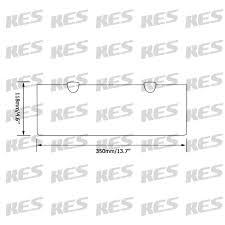 bathroom tempered glass shelf: kes  inch bathroom tempered glass shelf mm thick wall mount rectangular brushed nickel bracket bgss