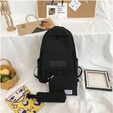 <b>Backpack</b> For <b>Women</b> Student <b>Bag Female</b> Fresh Literary Shoulder ...