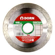 <b>Диск алмазный</b> DORN <b>сплошной по</b> плитке 115x2x22 мм купить ...
