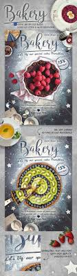 bakery promotion flyer template by emty graphicriver bakery promotion flyer template restaurant flyers